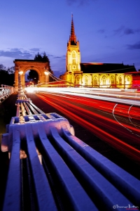 First Prize 12-18s: 'Marlow Bridge Rush Hour Light Trails' 3 May 2016 Thomas Britton 15yrs