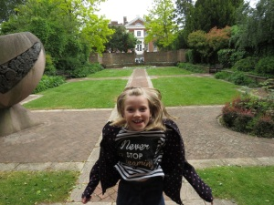 Highly Commended 7-11s: 'My photobombing sister in our secret park' The park opposite the library 2/6/16 Zac Drury 8 yrs