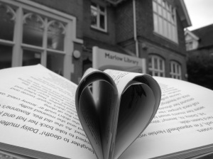 First Prize 7-11s and Overall Winner: 'I really Love Marlow Library' Taken 2/6/16 Daisy Drury 8 yrs